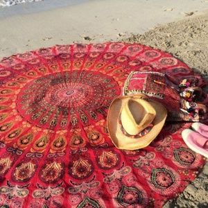 Other - Round Mandala tapestry/beach cover-up
